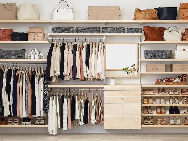 elfa custom closets