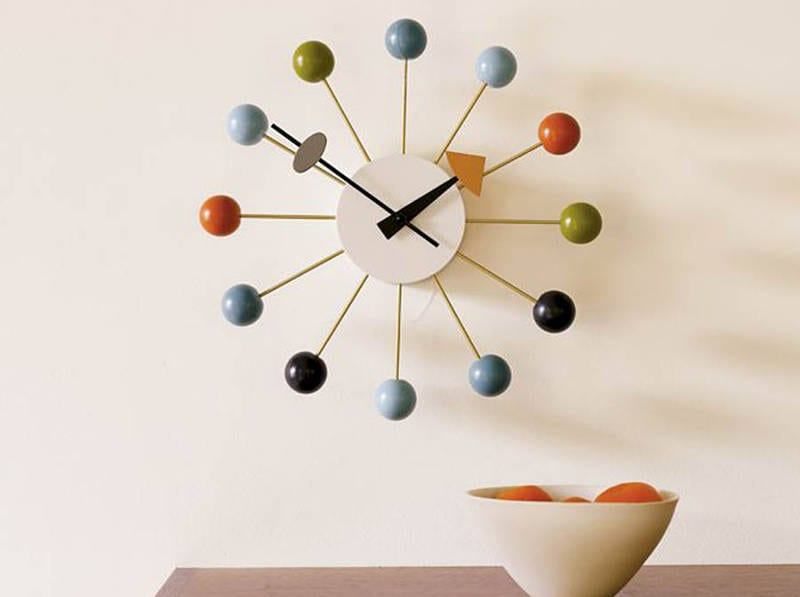 george nelson wall clock - freshome.com