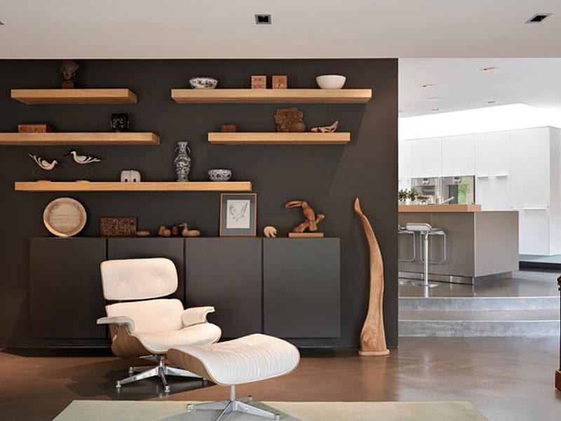 10 Floating Shelves To Create Contemporary Wall Displays