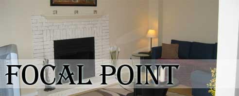 interior design focal point