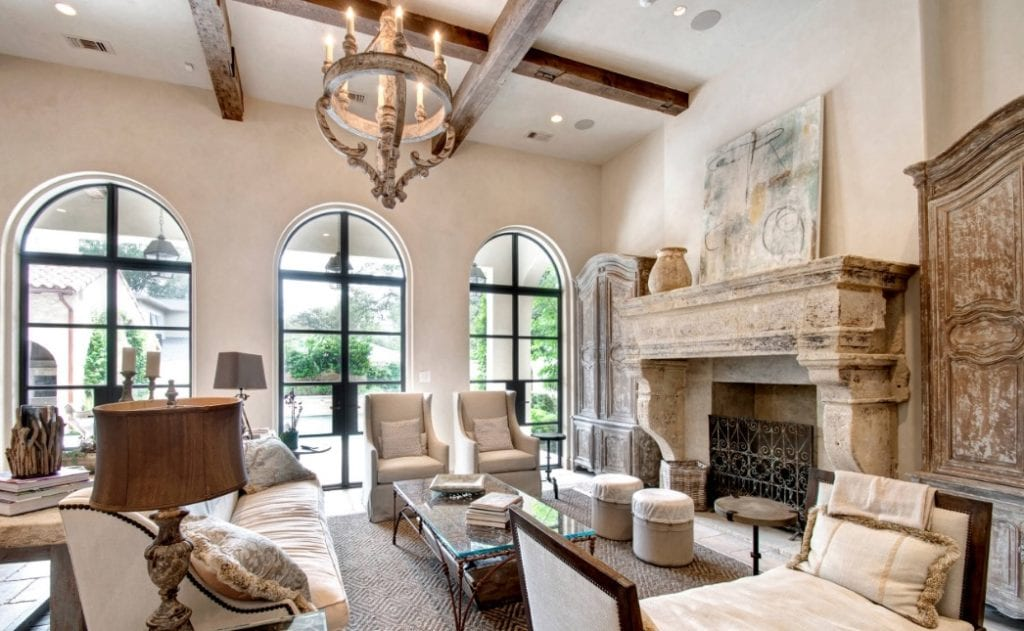 French Country Design, French Country Style Living Room