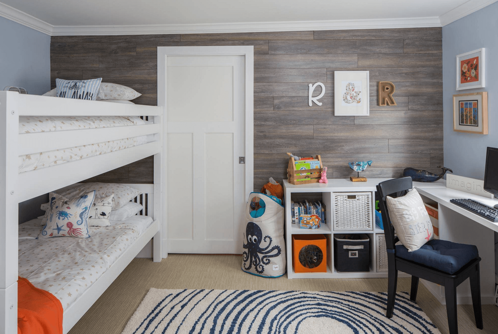 Image of: Creative Shared Bedroom Ideas For A Modern Kids Room