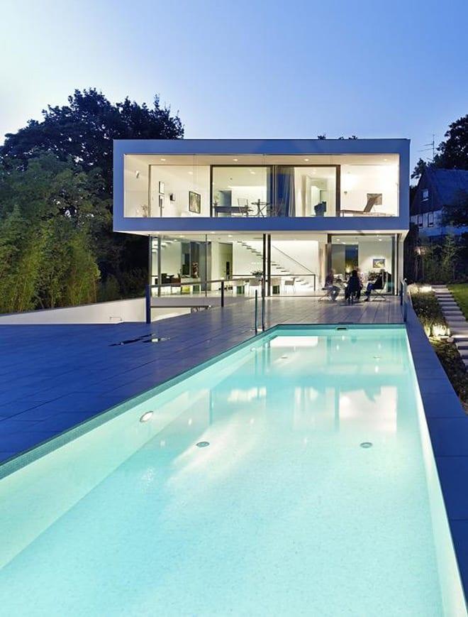 glass villa