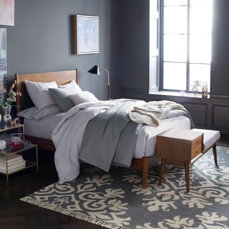 guest bedroom essentials - bench