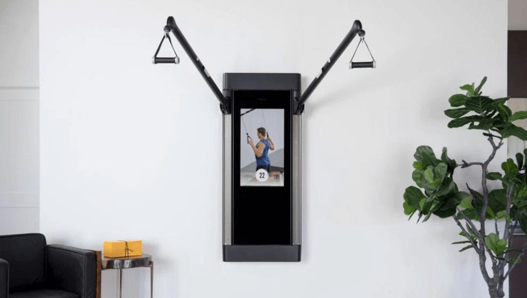 high-end workout equipment - tonal