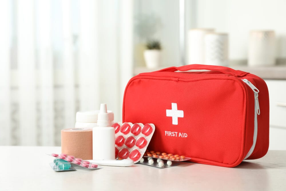 home emergency kit - first aid