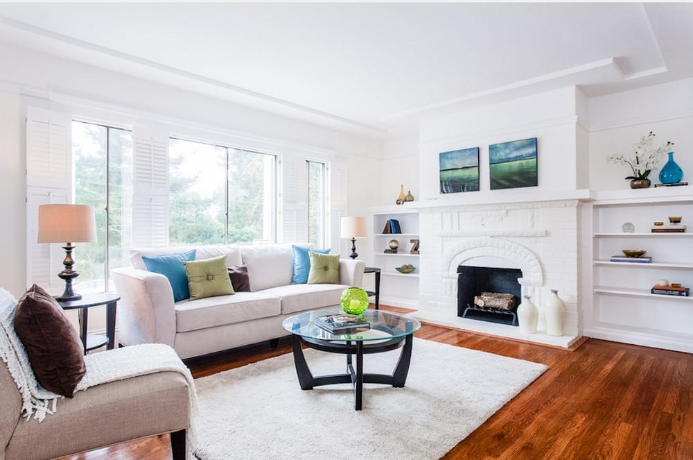 Staging your home is invaluable to the resale process. Image Via: Erika Lam