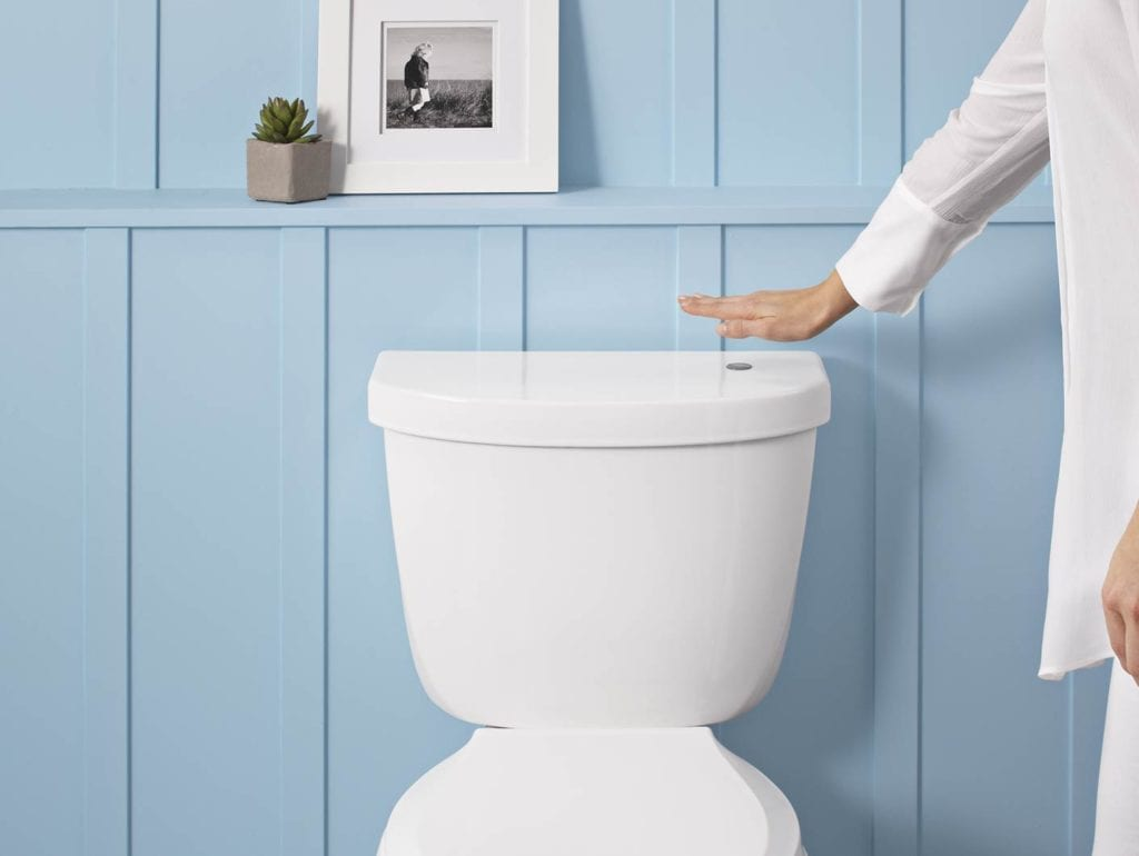 Wave To Flush Touchless Toilet Kit For Increased Bathroom Hygiene Video