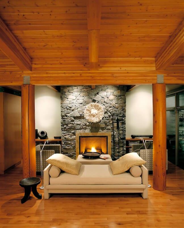 living room ceiling beams 1