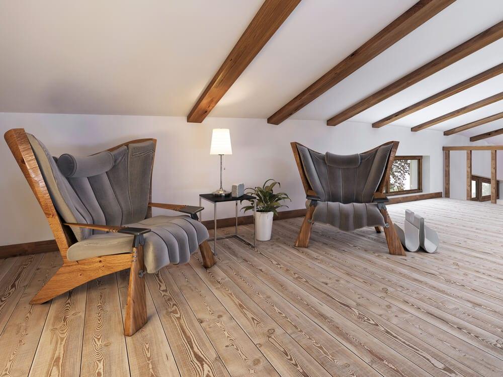 living room ceiling beams 7
