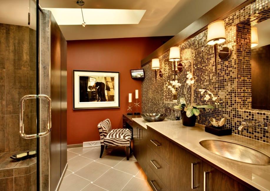 luxury bathroom tile