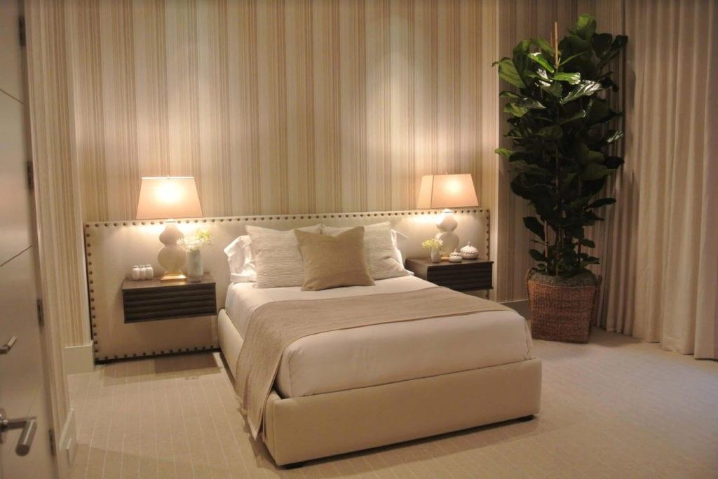 neutral bedroom nightstands