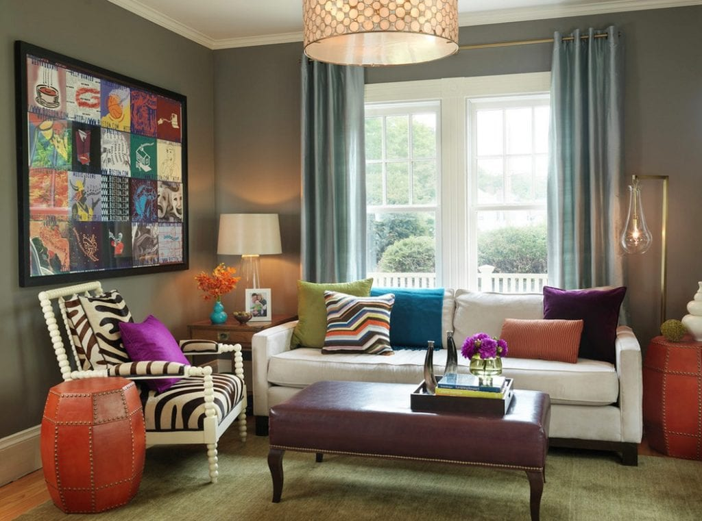 mix and match patterns bold color
