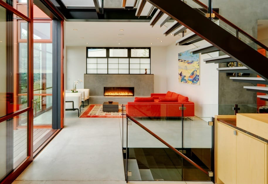 modern home concrete
