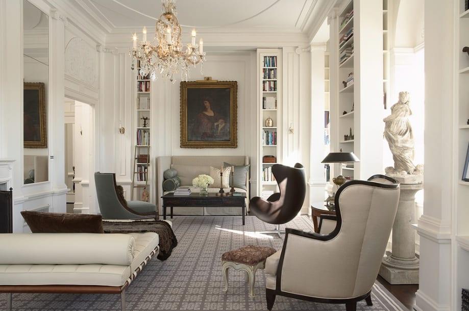 Modern Victorian Living Room Decor Ideas Leadersrooms