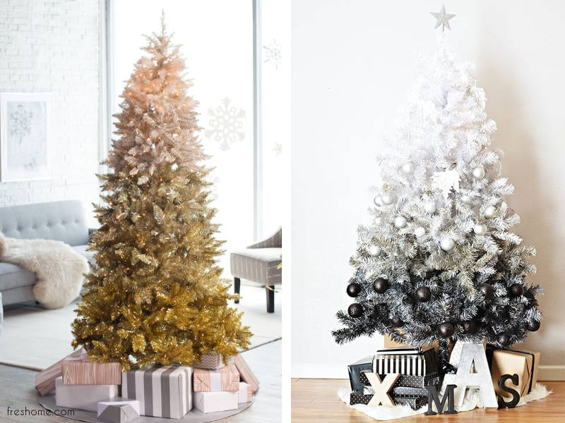 modern christmas tree decorating ideas - freshome.com