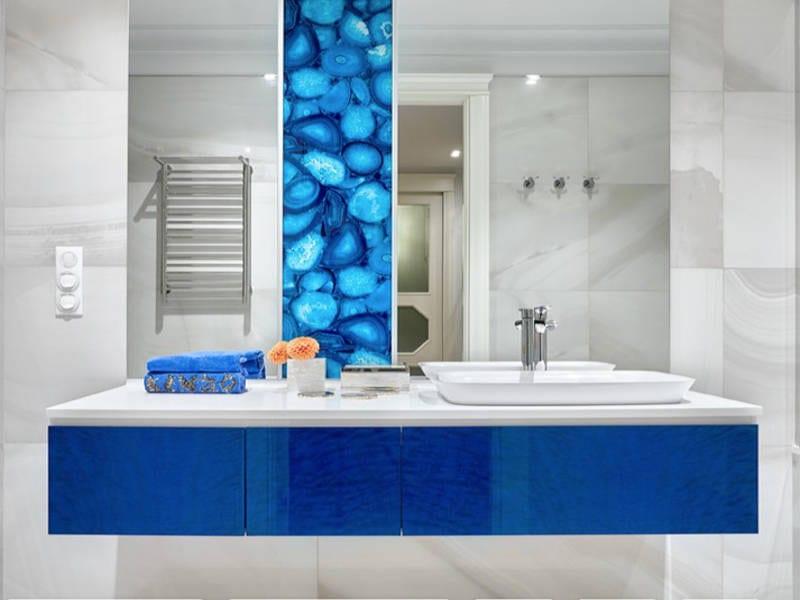 contemporary blue bathrooms - freshome.com