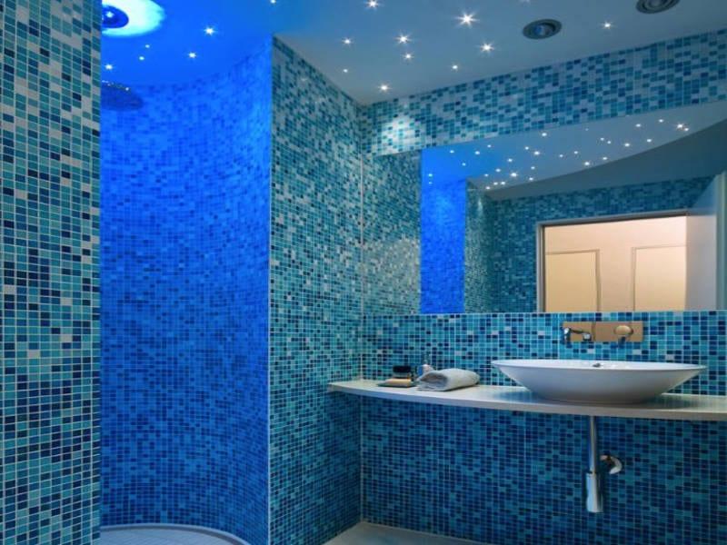 blue bathroom ideas - freshome.com
