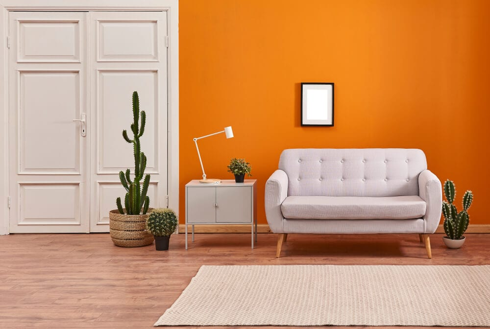 room color - orange