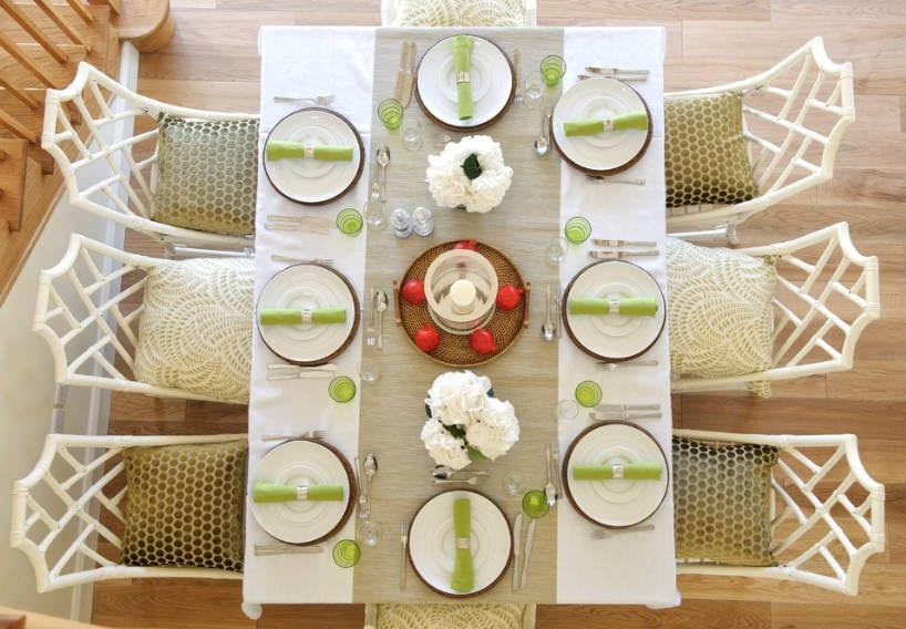 table centerpiece ideas - freshome.com