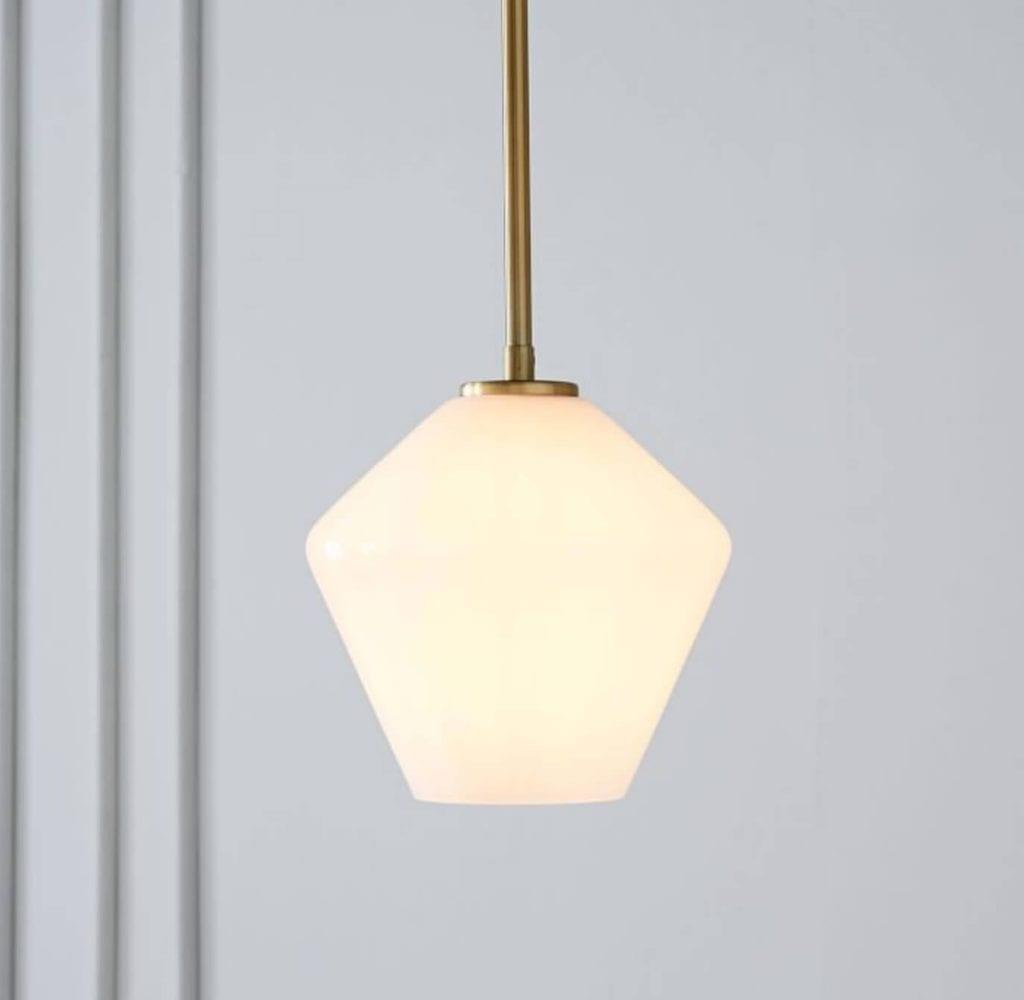 Soft Bedside Pendant Light