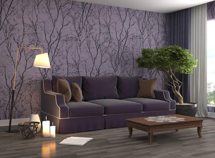 purple wallpaper ideas