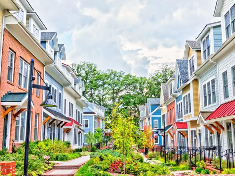 Neighborhood walking paths