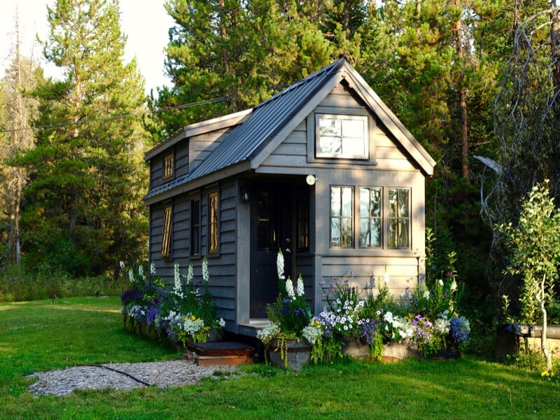 Tiny home in the mountains