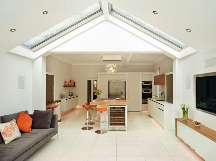 skylight vault ceiling