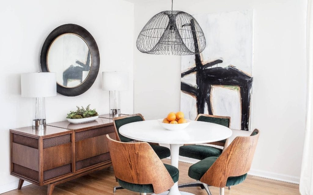 How To Design A Small Dining Space Without It Feeling Totally Cramped