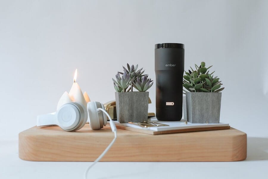 smart home technology - smart mug