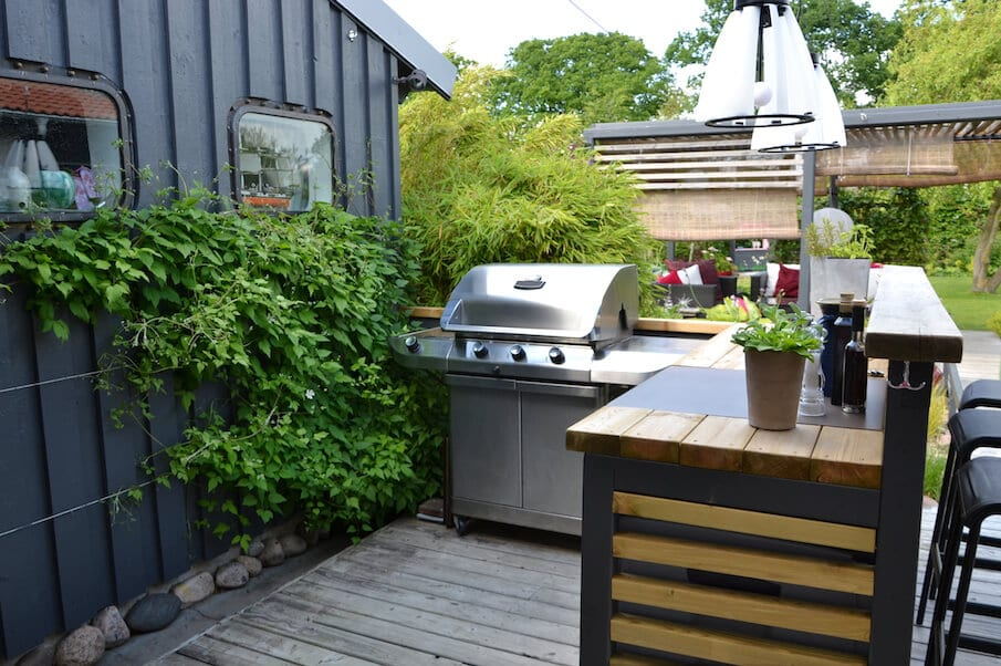 spring home maintenance - grill