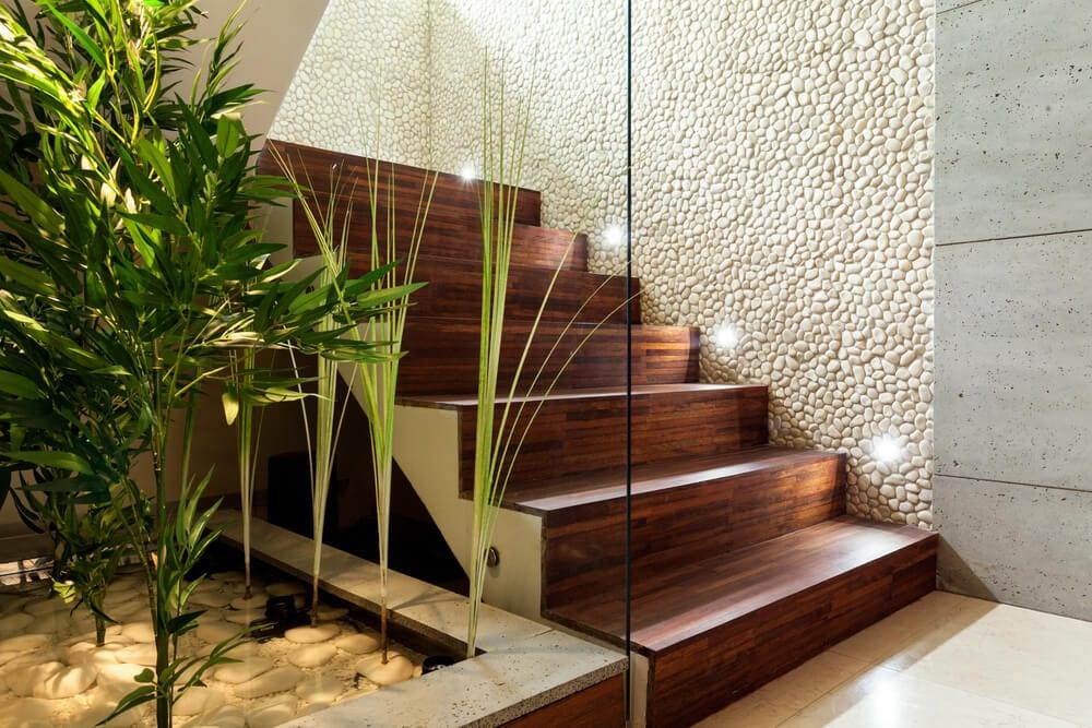 staircase design - lighting