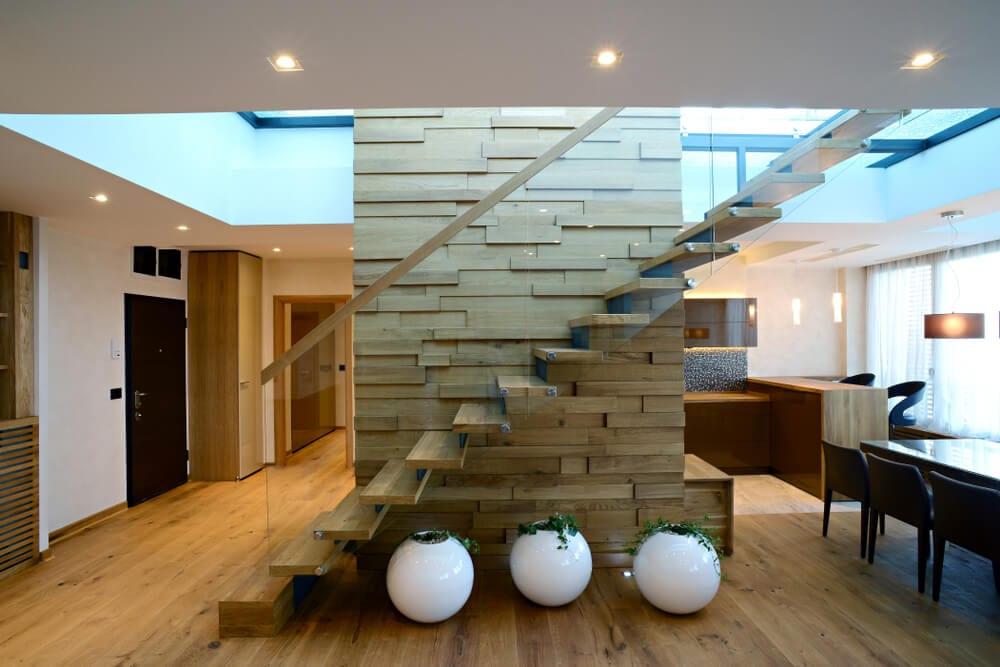 staircase design - millwork