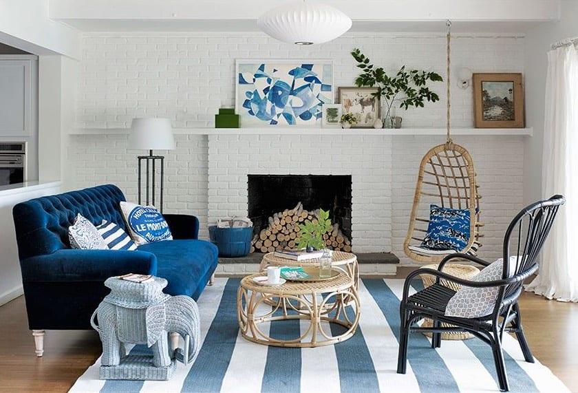 coastal chic beach house decor