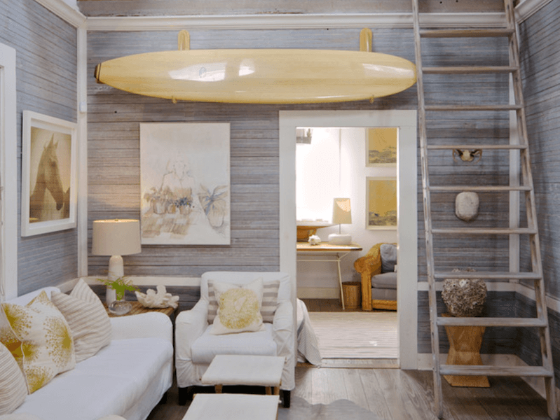 surfboards in home decor