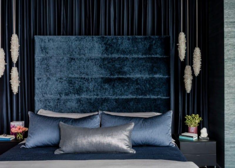 velvet bedding for fall - freshome.com