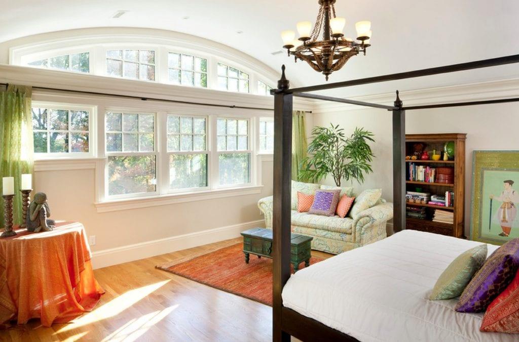 window creativity bedroom curved windows
