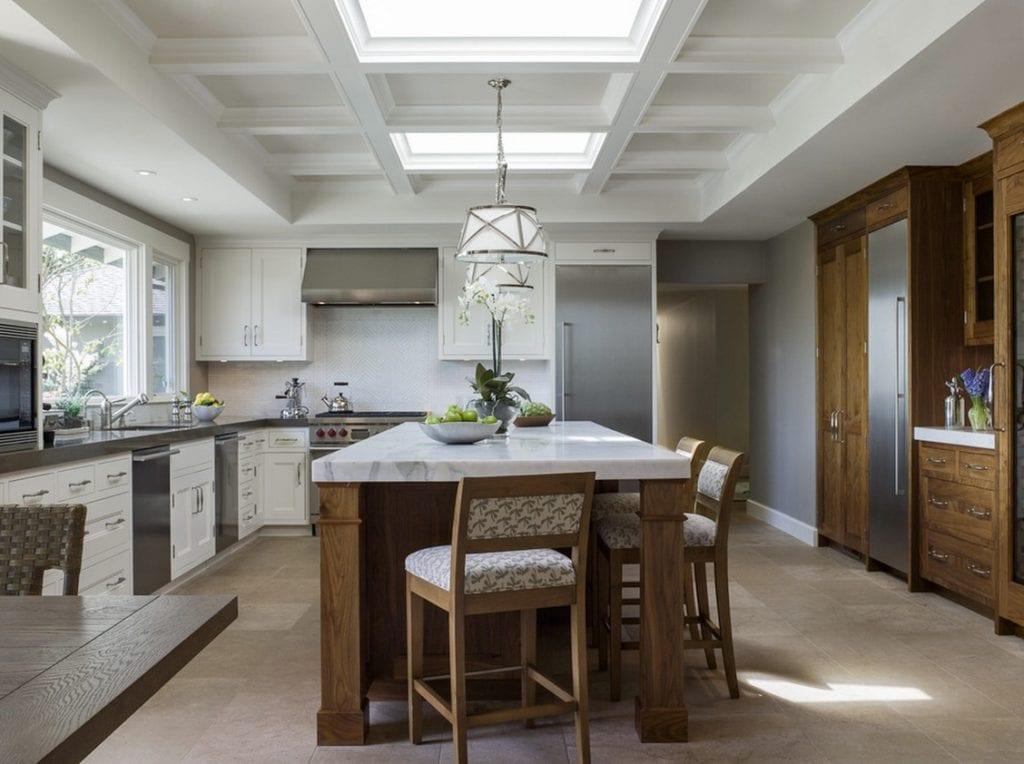 window creativity kitchen skylights