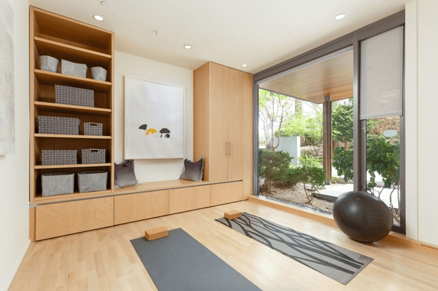 yoga room - home ingredients