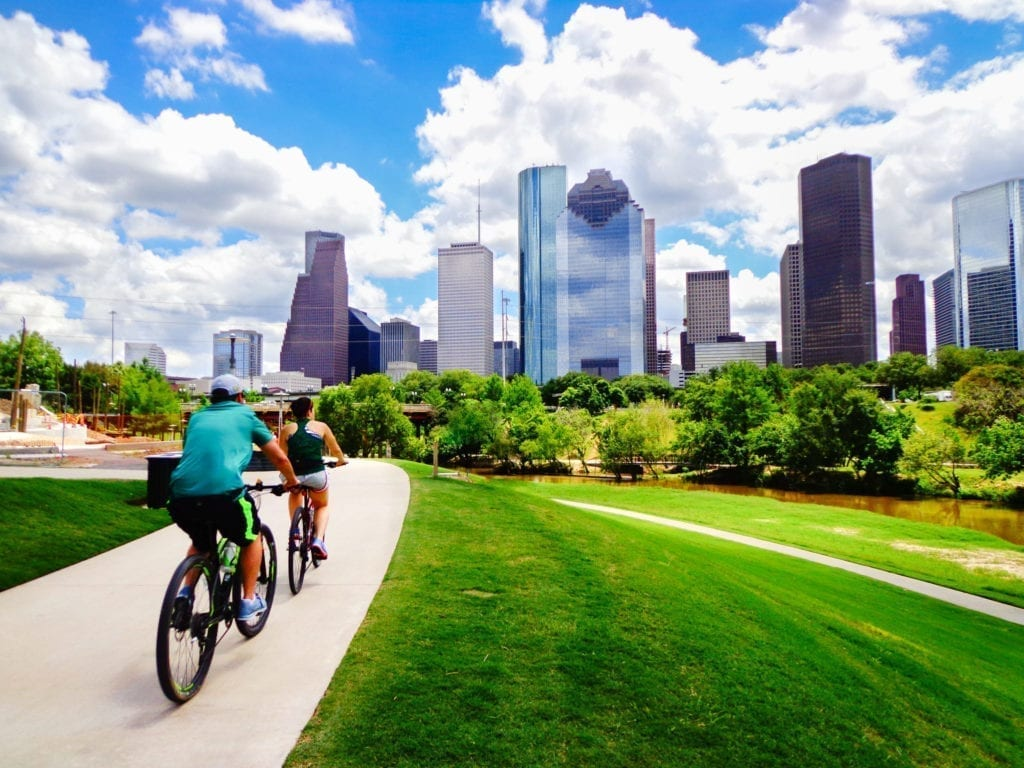 Houston in daylight