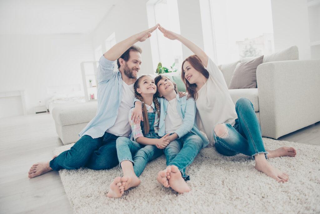 family happy house arm