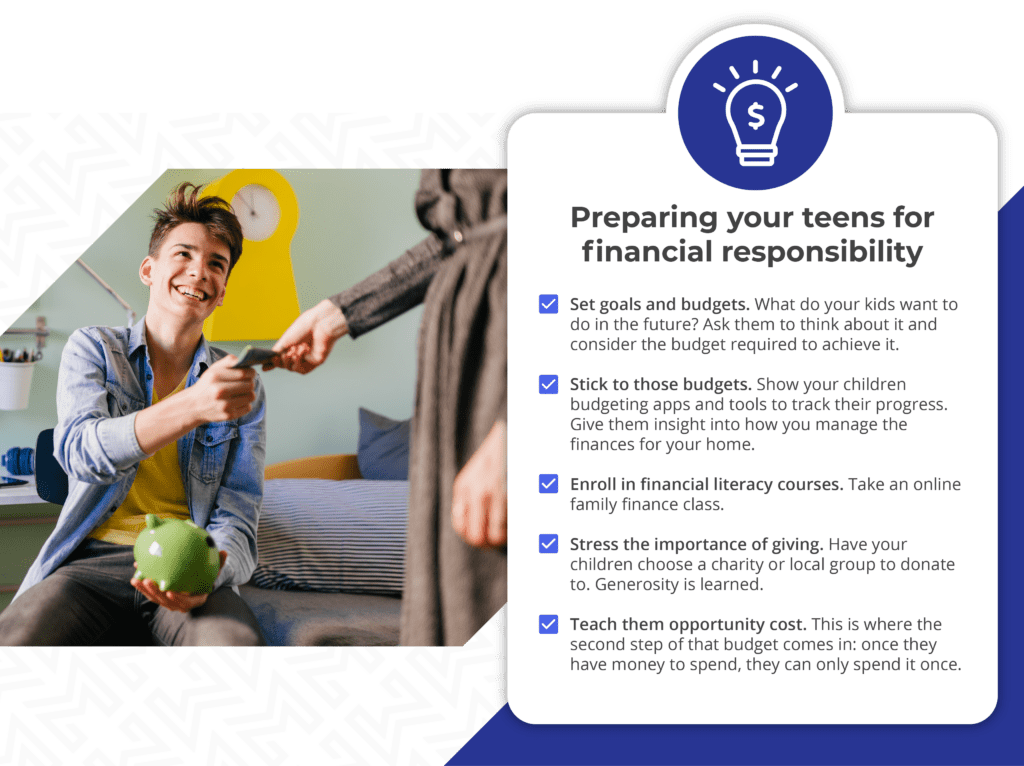 Preparing your teens for financial responsibility